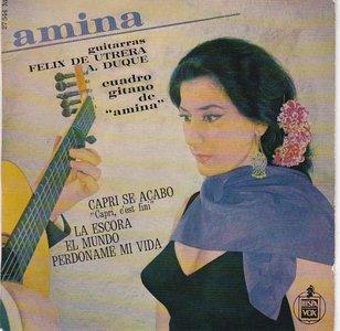 Amina - Cuadro Gitano De Amina (Vinylsingle)