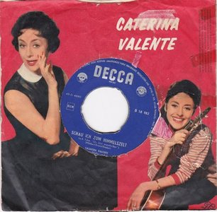 Caterina Valente - Schau ich zum himmelszelt + Ich weiss ja alles (Vinylsingle)