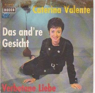 Caterina Valente - Verbotene Liebe + Das And're Gesicht (Vinylsingle)