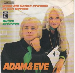 Adam & Eve - Wenn die sonne erwacht in den bergen + Bunte laternen (Vinylsingle)
