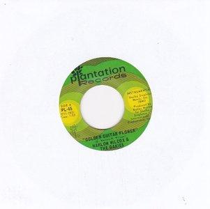Harlow Wilcox - Golden Guitar Flower + The Gold Eagle (Vinylsingle)