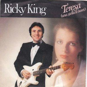 Ricky King - Teresa + Dance Judy dance (Vinylsingle)