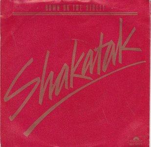 Shakatak - Down on the street + Holding on (Vinylsingle)