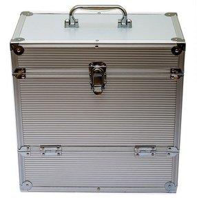 LP Flightcase Zilver voor 40 platen - per stuk