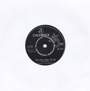 Freddie & the Dreamers - You were made for me + Send a letter to me (Vinylsingle)