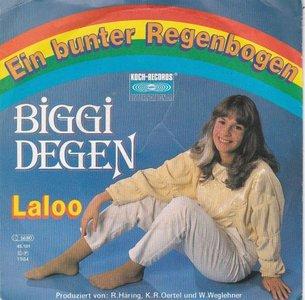 Biggi Degen - Ein Bunter Regenbogen + Laloo (Vinylsingle)