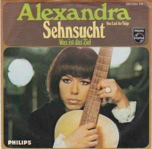 Alexandra - Sehnsucht + Was Ist Das Ziel? (Vinylsingle)
