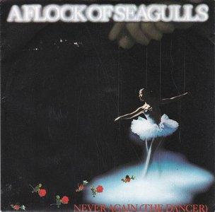 A Flock of Seagulls - Never again + Living in heaven (Vinylsingle)
