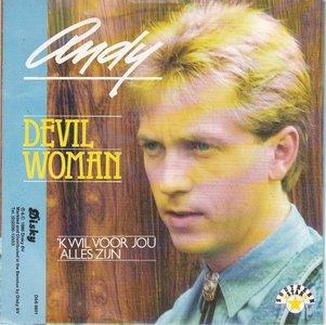 Andy - Devil woman + 'k wil voor jou alles zijn (Vinylsingle)