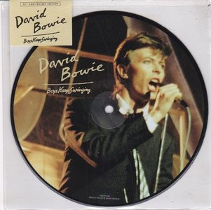 David Bowie - Be my wife + Art Decade (live Perth '78) (Vinylsingle)