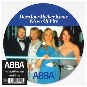 Abba - Does Your Mother Know + Kisses Of Fire (Vinylsingle)