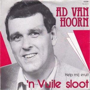 Ad van Hoorn - n Vuile Sloot + Help Mij Eruit (Vinylsingle)