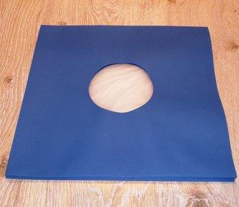 Binnenhoezen voor LP's (Blauw met antistatische voering) - per 10 stuks