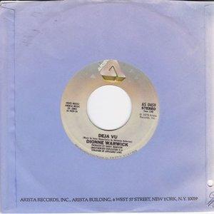 Dionne Warwick - Deja vu + All the time (Vinylsingle)